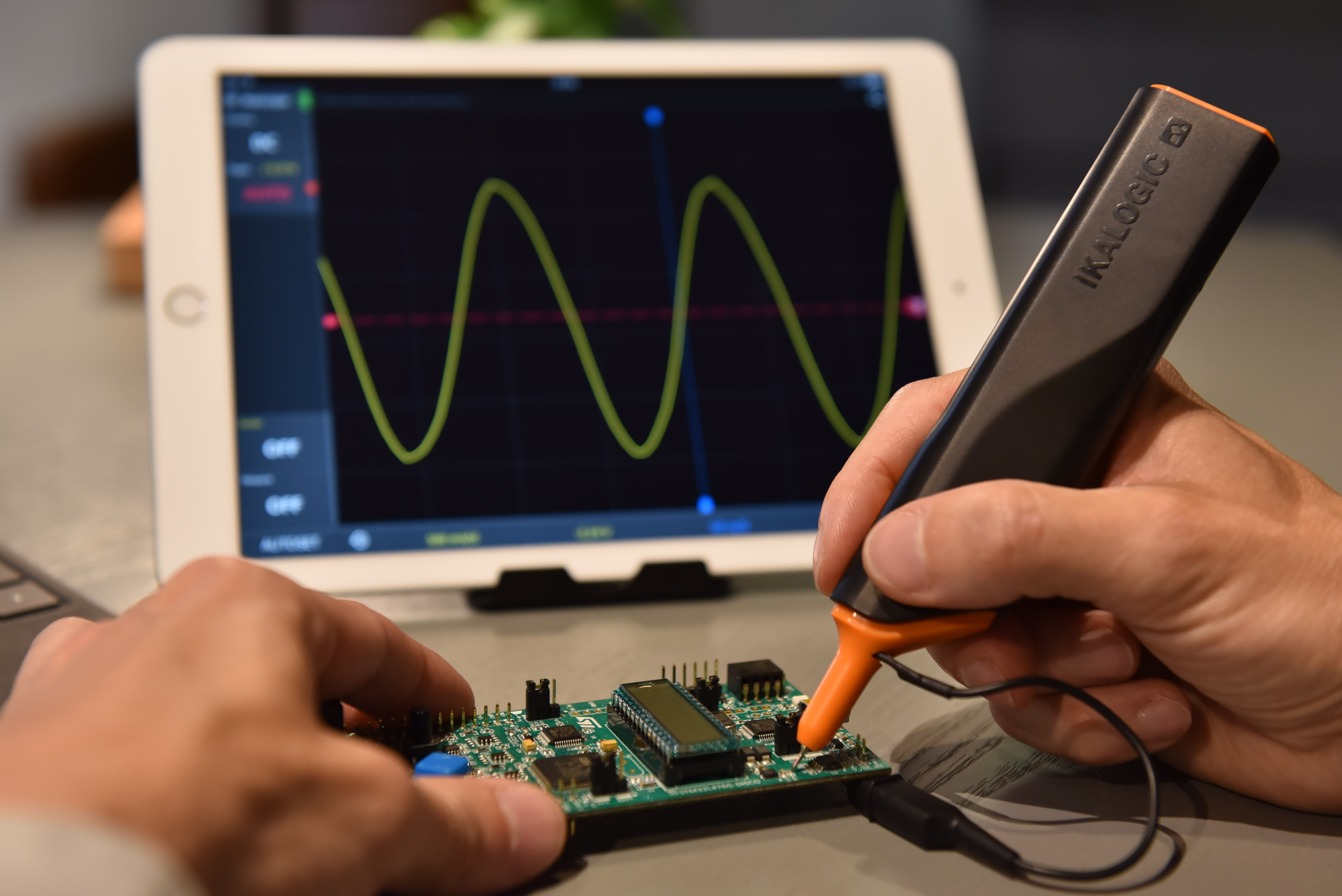 IkaScope: Not just a wireless oscilloscope probe