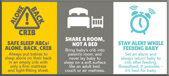 Safe Sleep Tips